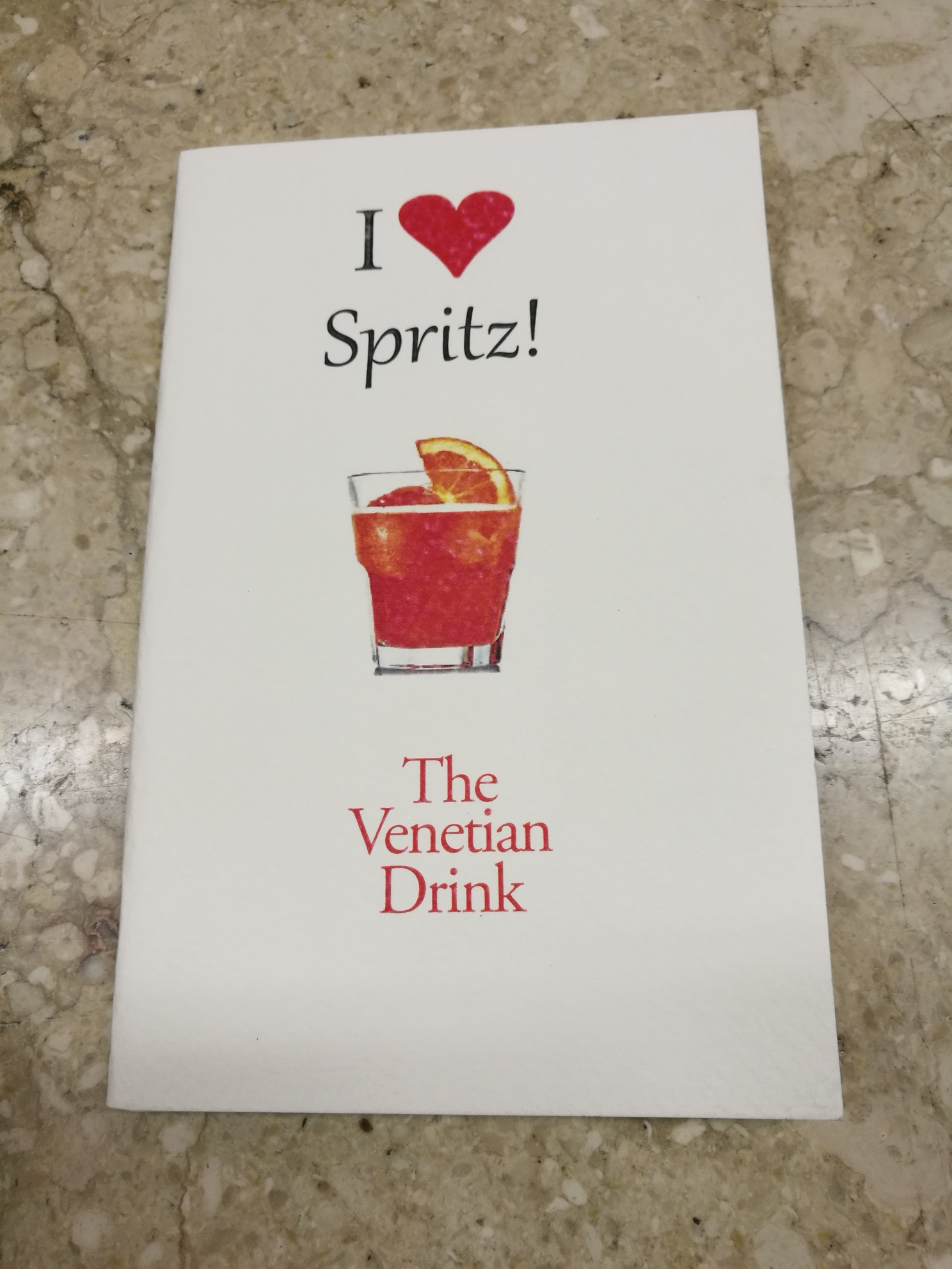 BOOK I LOVE SPRITZ