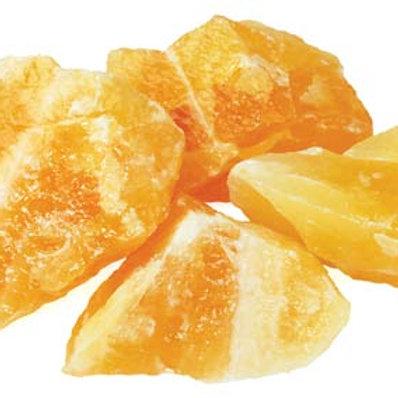 Orange Calcite Rough Crystal