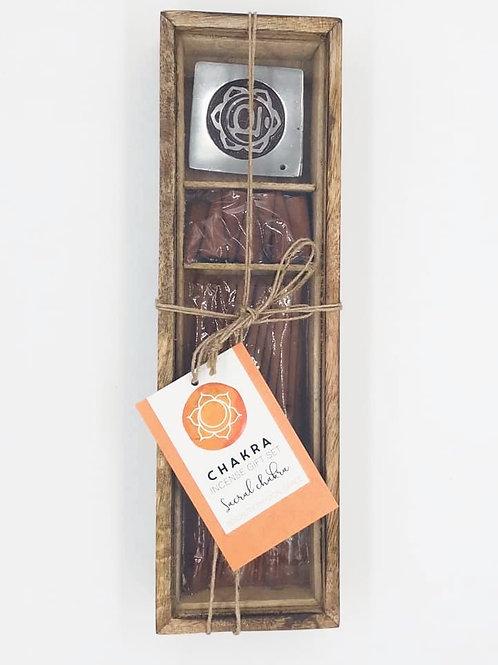 Sacral Chakra Incense Set