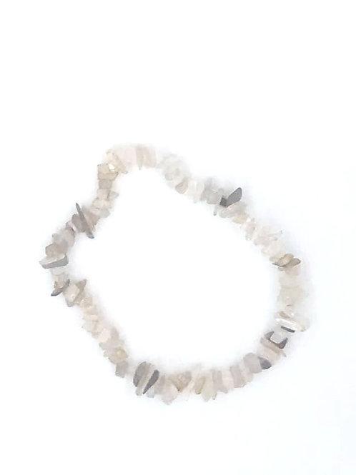 Moonstone Crystal Chip Bracelet