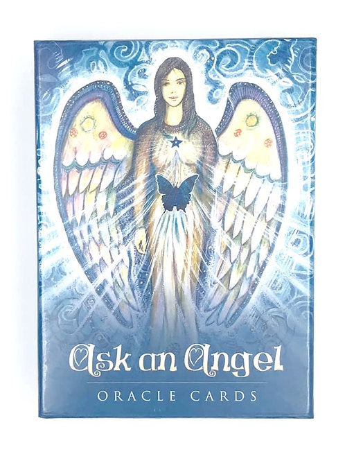 Ask an Angel Oracle Cards by Toni Salerno