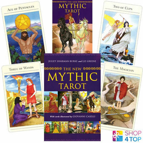 The New Mythic Tarot by Giovanni Caselli