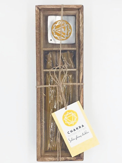 Solar Plexus Chakra Incense Set