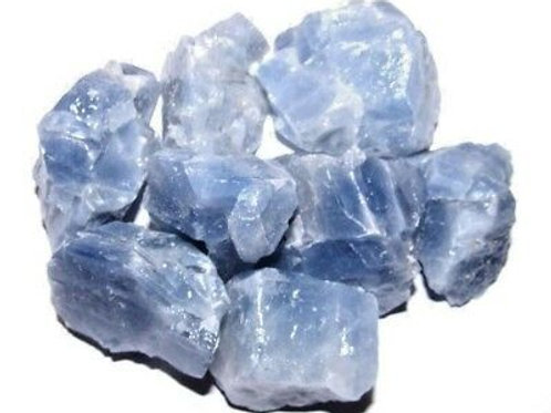 Blue Calcite Rough Crystal