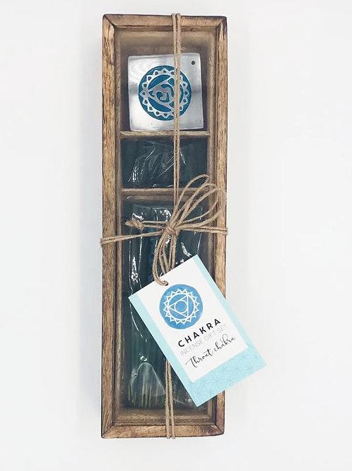 Throat Chakra Incense Gift Set