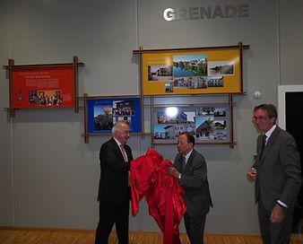 Inauguratio salle Grenade-sur-l'Adour en 2017 à Hésingue