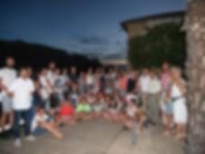 Accueil de jeunes Hésingois en août 2016