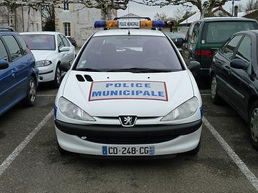 Voiture police municipale
