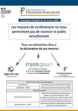 Affiche information des usagers campagne
