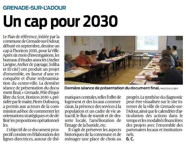 Article Un cap pour 2030.JPG