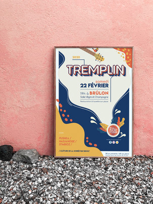 Affiche Tremplin 2020 - Festival ATBC #4