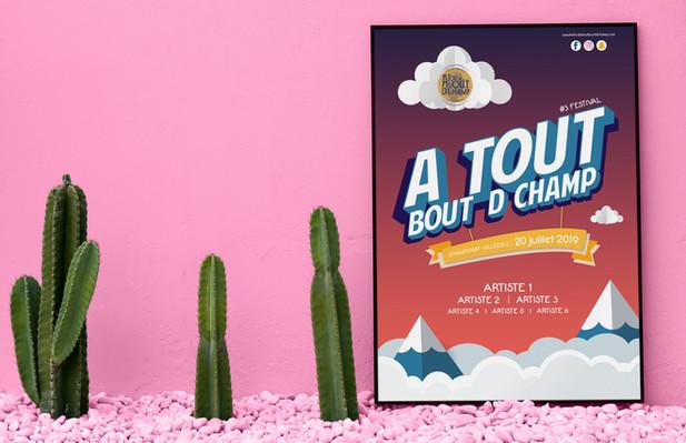 Essai affiche officielle 2019 - Festival ATBC #3