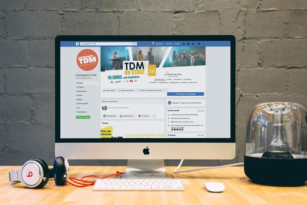 Réseaux sociaux TDM on stage 2019 - Compagnie TDM