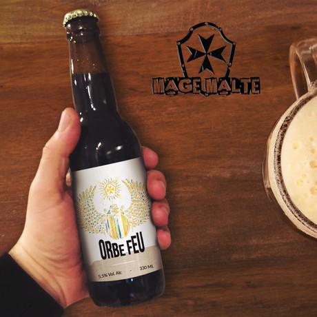 Concours de création pour les nouvelles étiquettes des bières de chez MAGE MALTE - ORBE FEU