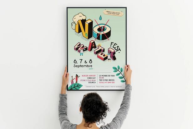 Affiche officielle 2019 - No Water Fest #1