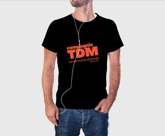 T-shit logo 2019 -  Compagnie TDM