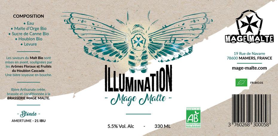 Concours de création pour les nouvelles étiquettes des bières de chez MAGE MALTE - ILLUMINATION