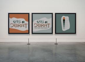 Logotype SARL DERAT : électricité - plomberie - chauffage - aménagement