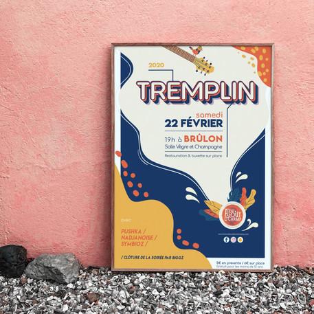 Affiche du Tremplin 2020