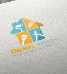 Logotype pour DELMAS ENTRETIEN