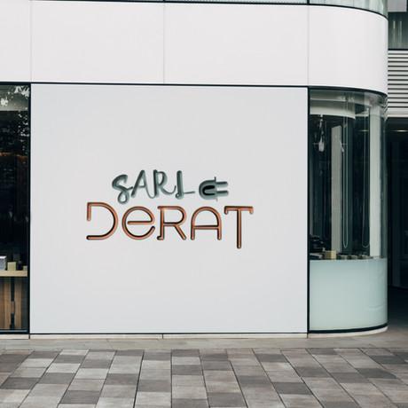 Logotype sur devanture