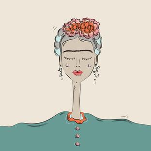 Illustration Frida Kahlo