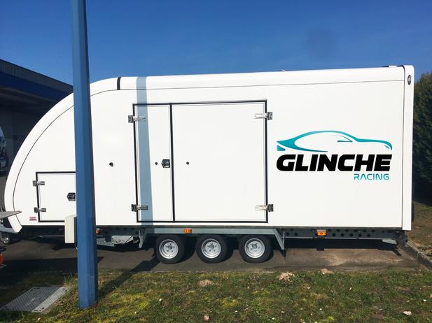 Flocage remorque - Glinche Racing