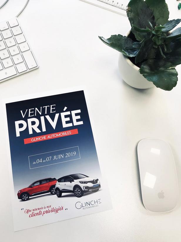 Flyer Ventes Privées - Glinche Automobiles