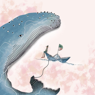 Série d'illustrations sur le thème de PINOCCHIO.