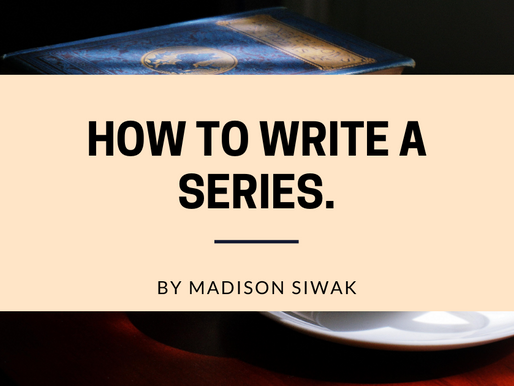How to Write a Series.