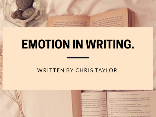 Emotion in Writing: An Article by Chris Taylor.