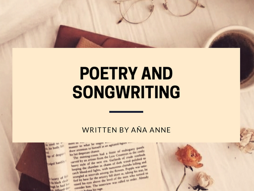 Aña Anne Teaches Poetry and Songwriting.