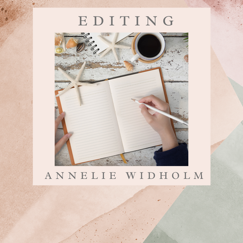 All About Editors: An Article by Annelie Widholm.