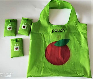 Apple polyester bag with it pouch.jpg