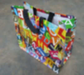 Woven PP shopping bags