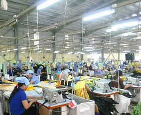 Shopping bags production line