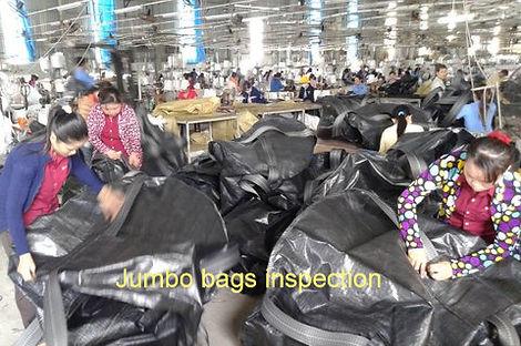 Controle qualité des Big bags