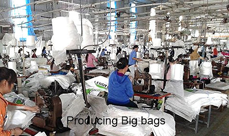 Big Bags or FIBC or Jumbo bags production line