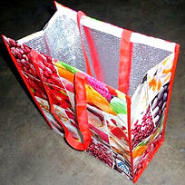 Cherries shopping bag