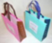 2 samples of welded shopping bags.JPG