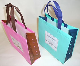 2 samples of welded shopping bags.JPG