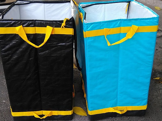 PP WOVEN Big KUBE sorting bags