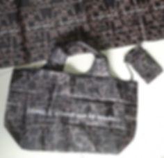 poliéster shopping bag