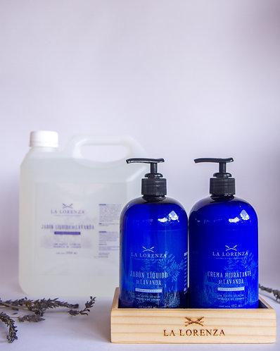 Refill Jabón Liquido con Aceite Esencial de Lavanda 1 Galón