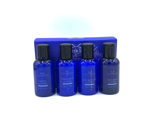 Kit de Serenidad: Jabón, Crema, Champú y Acondicionador con Aceite Esencial