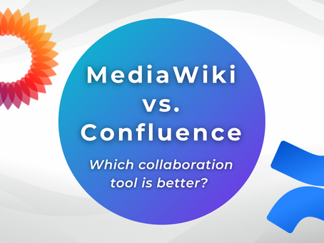 MediaWiki vs. Atlassian Confluence: Which collaboration tool is better?