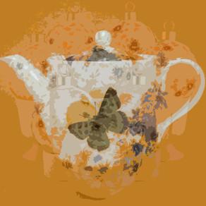 Moon Rise Tea Pot