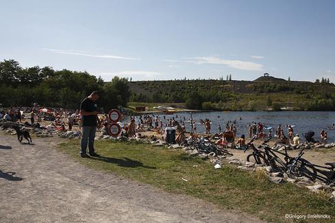 Le lac des Argales