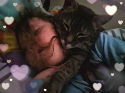 Tammy and her cat