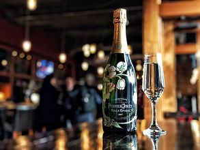 Champagne in Baltimore at Bond Steet Social